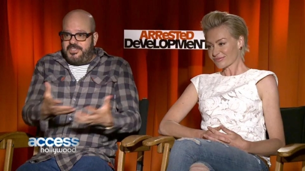 David Cross & Portia de Rossi Together Again on
