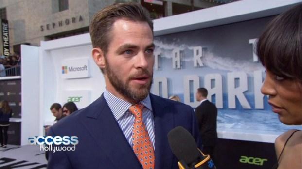 "[NATL] Chris Pine's ""Star Trek Into Darkness"" LA Premiere"