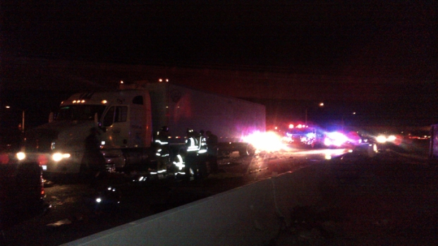 [DGO] Cars, Semi-Truck Collide on I-805