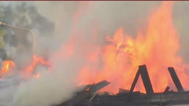 Concerned Neighbors Watched Country Club Burn