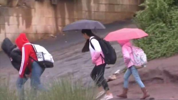 North County Residents Excited for Day-Long Rainfall