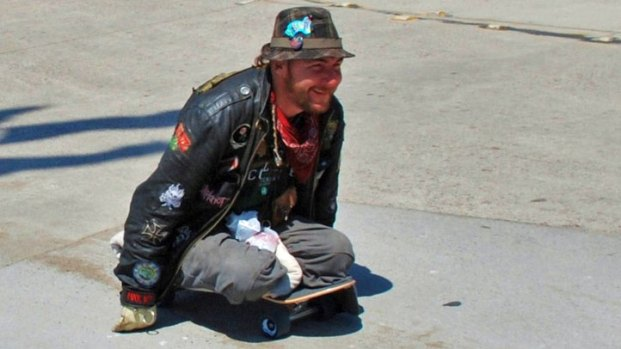 Paraplegic Skateboarder Hurt While Hitching Ride