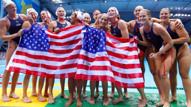 U.S. Water Polo in London 2012 Olympics