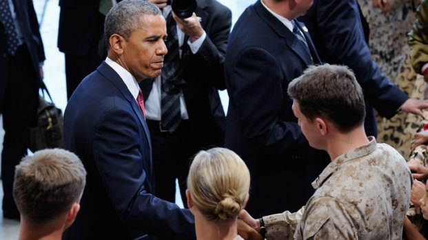 President Obama Speaks at Camp Pendleton