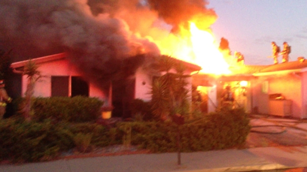 [DGO] Fire Engulfs Oceanside Home