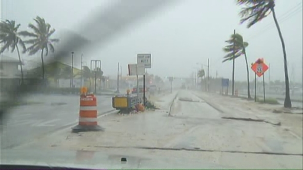 [MI] Wet Day in Key West, But Isaac Passes By With Little Impact