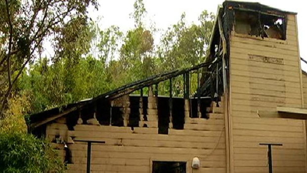 Fire Destroys San Diego Zoo Gift Shop: Images