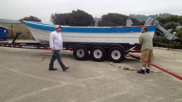 Panga Seized in Del Mar