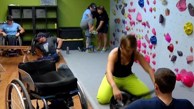 [DGO] Paralympic Skiers Train in San Diego