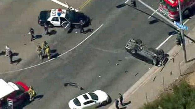 [DGO] Raw Video: Miramar Road Crash