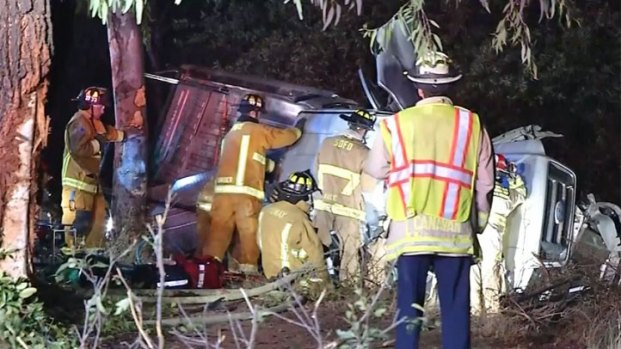 [DGO] Man Dies in Poway Truck Crash