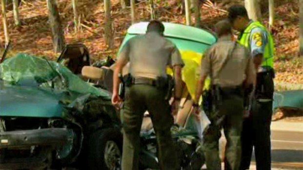 Accident Injures Four in Poway