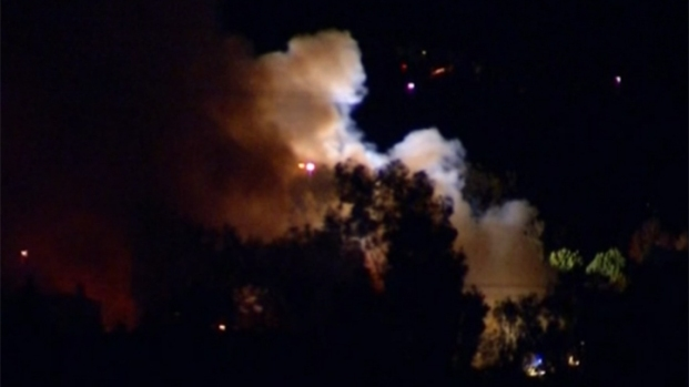 [DGO] Rancho Santa Fe Mansion in Flames