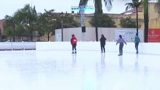 Rain Doesn't Stop San Diegans From Having Fun Outside