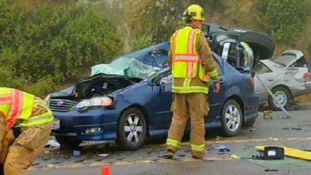 Fatal Crash SR 67 Near Ramona: Images