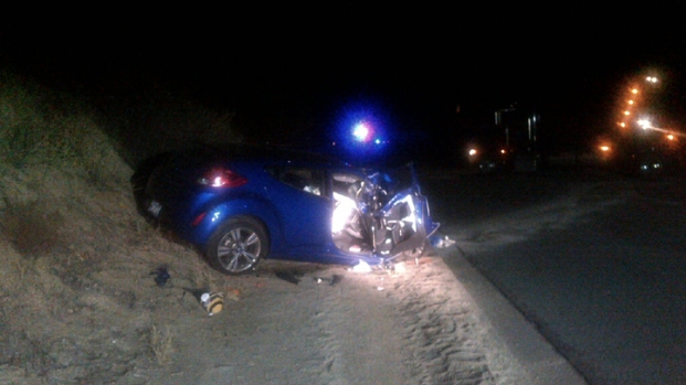 Father, Daughter Injured in Head-On Ramona Crash