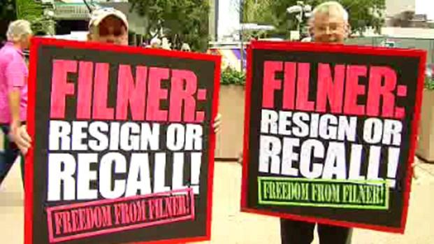[G] Bob Filner Recall Campaign Officially Begins