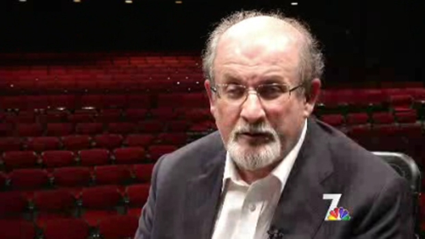[DGO] Author Salman Rushdie Discusses Life in Hiding