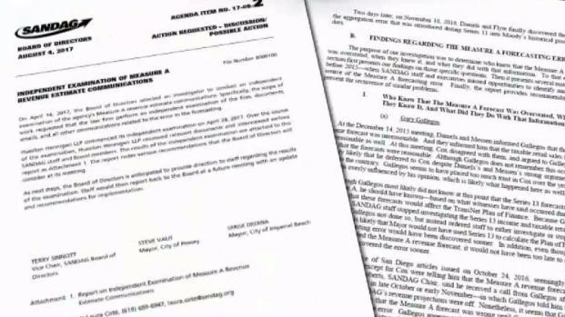 [DGO] SANDAG Employees Told to Delete Documents Investigators
