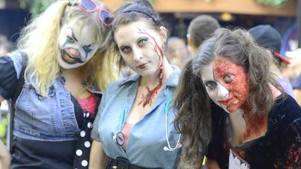Zombies Invade San Diego's Gaslamp