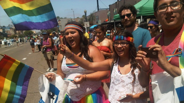 [DGO] Thousands Flock to San Diego Pride