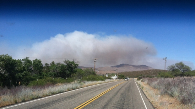 Controlled Burn Sparks Brush Fire