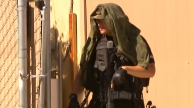 [DGO] SWAT Team Surrounds Escondido Home