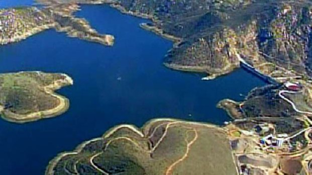 Raising San Vicente Reservoir: Images