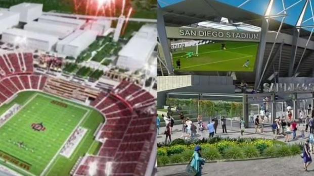 San Diegans to Decide on 2 Competing Stadium Measures