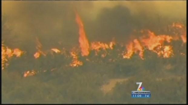 [DGO] San Diego Warned of Increased Fire Danger