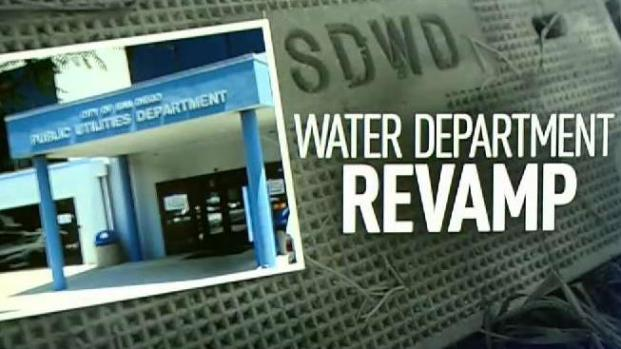 San Diego's Water Department to Get Major Overhaul