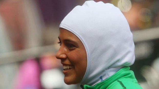 Escondido's Sarah Attar Makes History