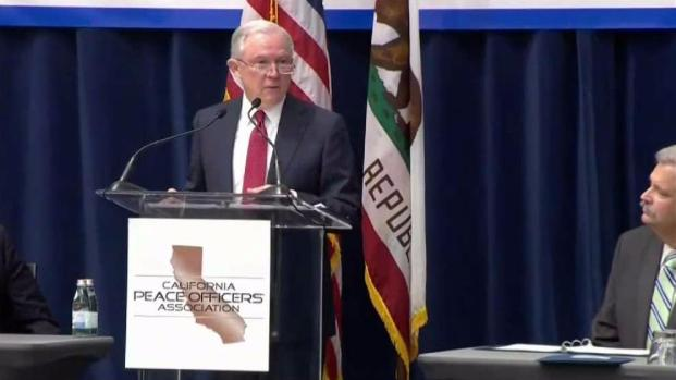 Atty. Gen. Jeff Sessions Claims California's 'Sanctuary Laws' Harm Agents