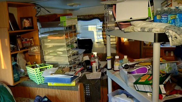 Inside Trailer in Paul Slysh, Jr. Shooting Death