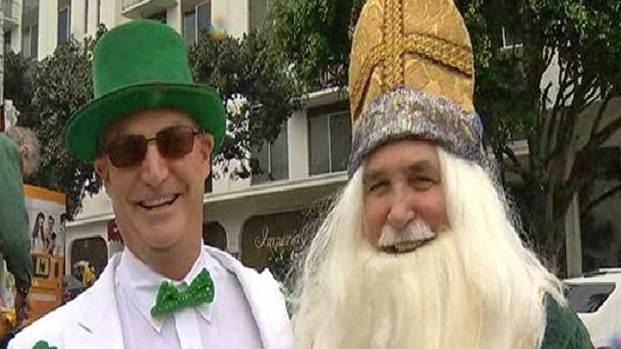 Celebrating St Patty's Day in San Diego