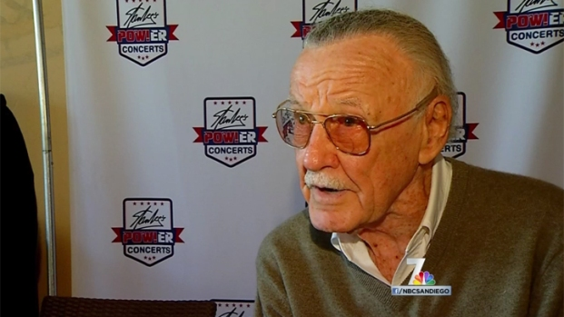[DGO] Stan Lee Hosts Military Concert in SD