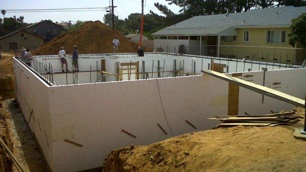 Building a Styrofoam Home