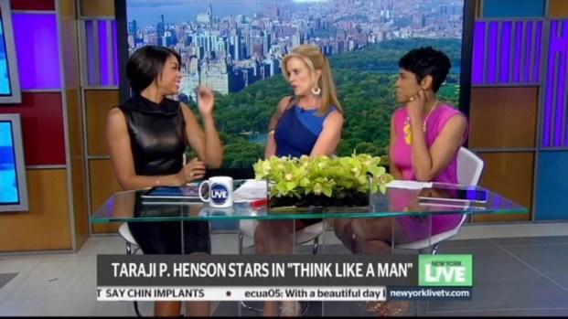 """[NY] Taraji P. Henson Stars in """"Think Like A Man"""""""