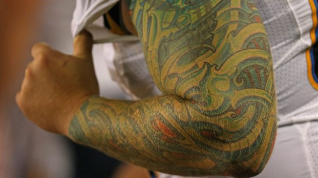 Chargers: Athletes' Ink