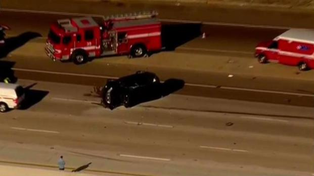 Wrong-Way Driver Causes Fiery, Fatal Crash on I-805 in