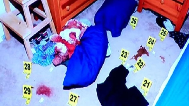 WARNING GRAPHIC IMAGES: Jennifer Trayers Trial