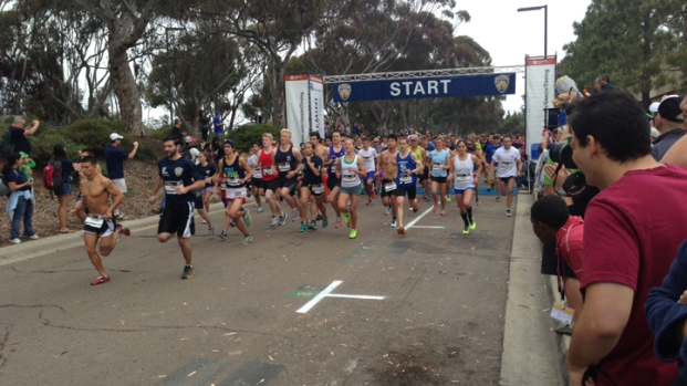 UCSD Students Hit Pavement in Triton 5K