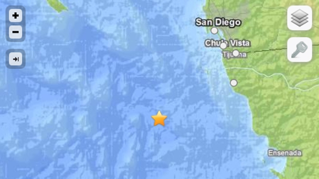[DGO] Earthquake Off Baja Felt Throughout San Diego