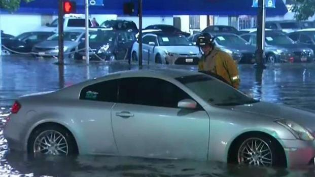 Second Wave of Storm Soaks San Diego County