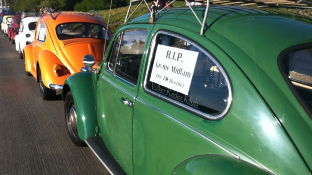 [DGO] VW Memorial Ride Held for DUI Crash Victim