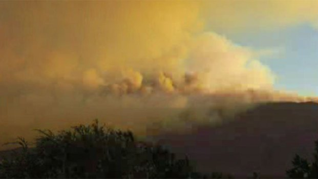 [DGO] Update: Fires Burn Around San Diego County