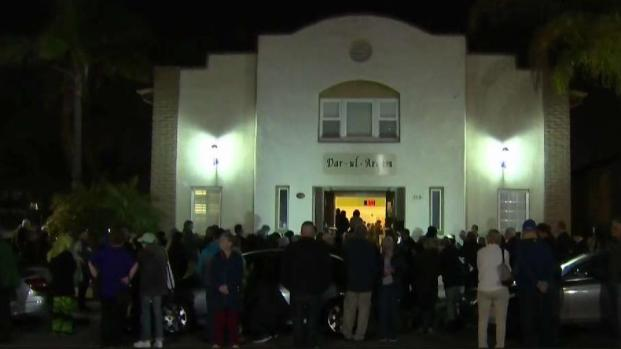 [DGO] Vigil Held After Suspected Arson at Escondido Mosque
