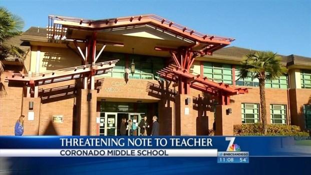 [DGO] Threat Received at Coronado Middle School