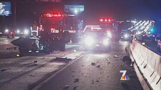 [DGO] Chaos After Wrong Way Driver Crashes