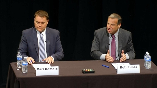 [DGO] DeMaio, Filner Debate Jobs